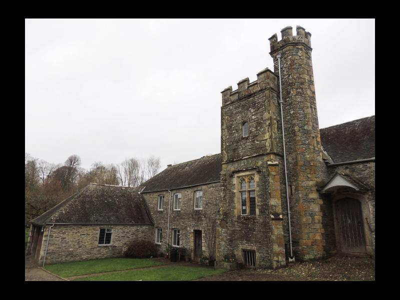 Buckland Abbey tower
