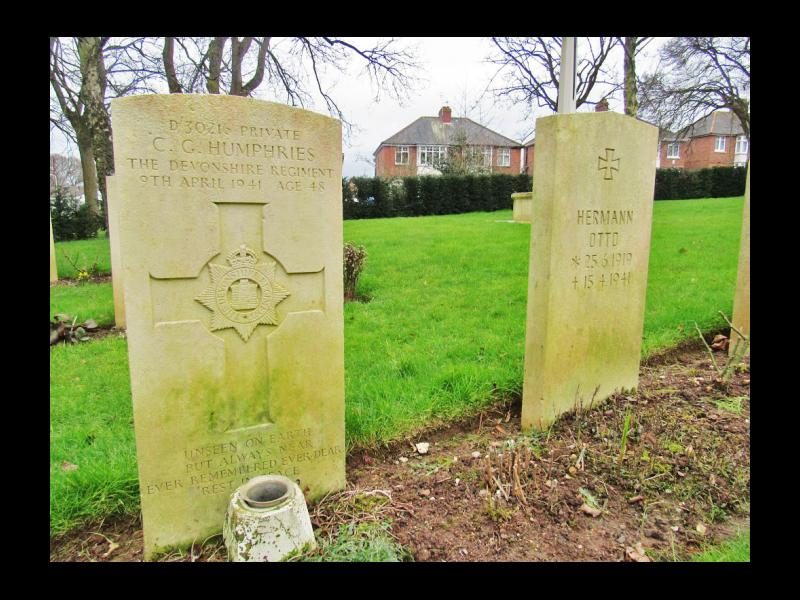English and German Graves