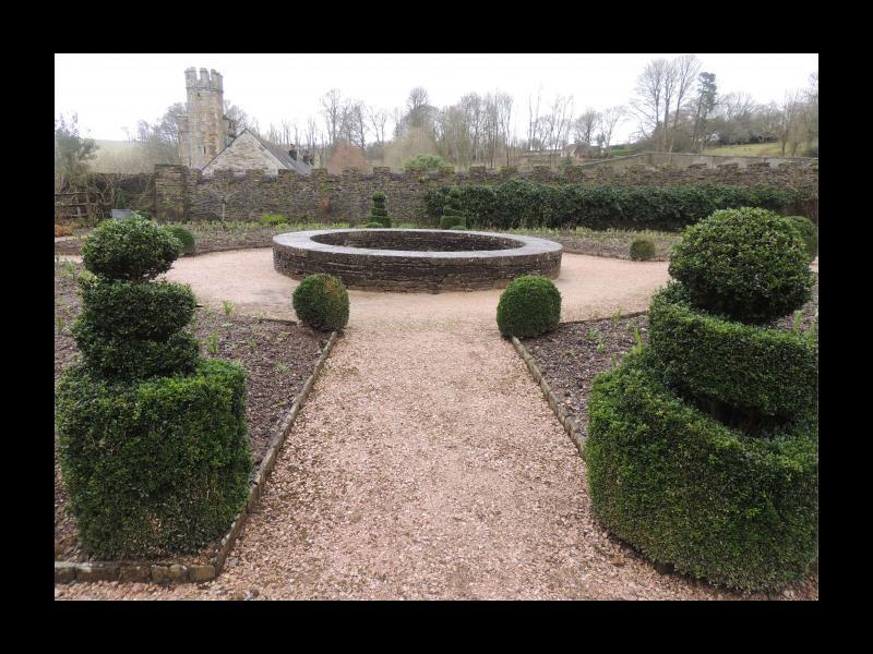 Buckland Abbey garden