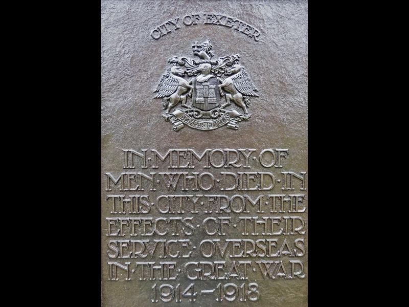 WWI Memorial Plaque
